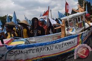 Aliansi Nelayan Indonesia Demo di Depan Istana Negara Hari Ini