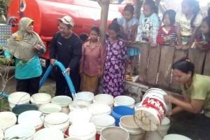 BPBD Temanggung Distribusikan Bantuan Air Bersih