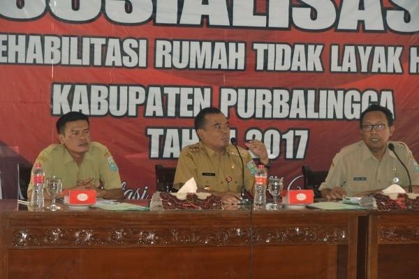 Pemkab Purbalingga Targetkan Rehab 4.000 RTLH