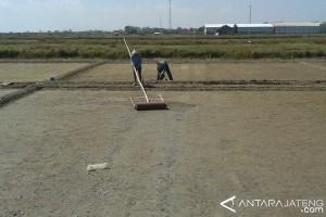 Tingkatkan kualitas, petani garam Pati berharap bantuan geomembran