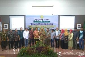 Alumni Faperta Unsoed Sampaikan Pesan Pembangunan Pertanian