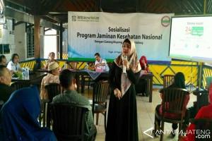 Dewi Aryani Sosialisasikan Program KIS di Tegal