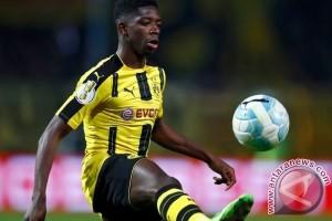 Demi Barca, Dembele Sengaja Lewatkan Latihan Dortmund