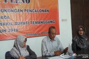 KPU Temanggung Serahkan Hasil Perbaikan Keanggotaan Parpol