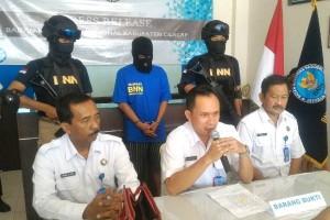 Petugas BNNK Cilacap Tangkap Bandar Narkoba