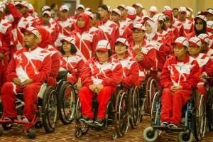 Menpora Sambut Kontingen NPC Indonesia sebagai Juara Umum