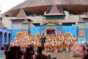 Presiden Pesan Anak Indonesia jangan Pernah Takut punya Cita-Cita