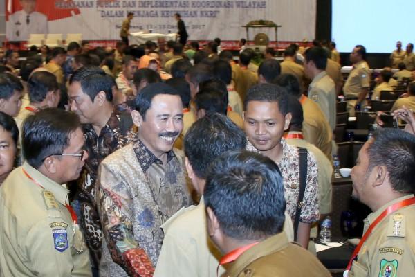 Camat se-Jateng Dikumpulkan di Semarang