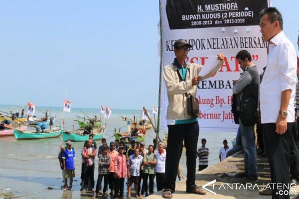 Nelayan di Rembang Dukung Musthofa Maju Pilgub Jateng