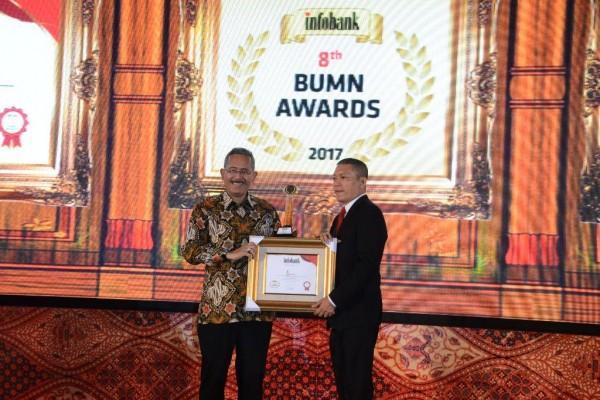 Kinerja Gemilang, TWC Raih Trofi Emas Infobank
