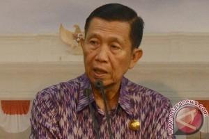 Gubernur Bali Perintahkan Kepala Desa Tampung Pengungsi