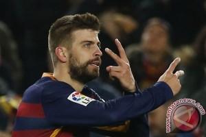 Gerard Pique selamatkan Barca kekalahan dari Espanyol