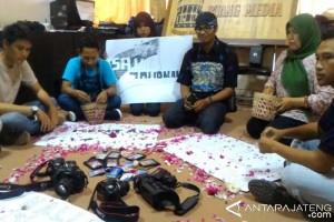 PWI Kota Magelang Solidaritas untuk Wartawan Banyumas