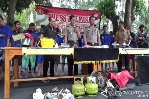 Operasi Sikat Candi, Polres Surakarta Tangkap 16 Tersangka