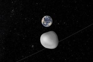 Tidak ada Risiko Tabrakan Meski Asteroid Melewati Orbit Bulan