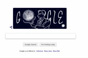 Google Doodle Peringati 107 Tahun Seorang Astrofisikawan AS keturunan India