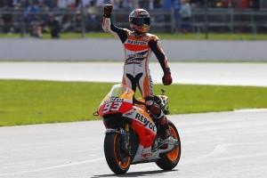 Marc Marquez Juarai MotoGP Australia, Andrea Dovizioso Terpuruk