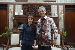 Ketua PSI Bertukar Pikiran dengan Ganjar Pranowo