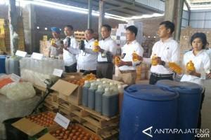 Gudang Pestisida Ilegal di Mranggen Digrebek
