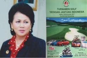 Yayasan Jantung Indonesia Gelar Turnamen Golf