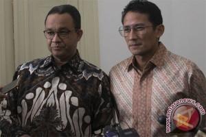 Jusuf Kalla terima Kunjungan Anies-Sandi di Istana Wapres