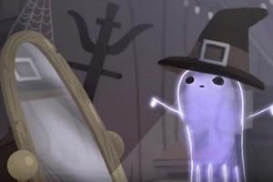 Google Doodle Rayakan Halloween Tampilkan Hantu Jinx