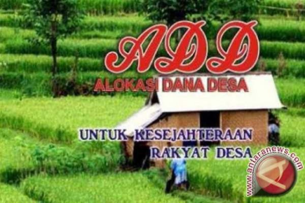 Alokasi Dana Desa untuk pemberdayaan masyarakat