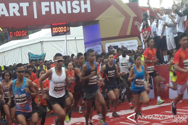Borobudur Marathon Tumbuhan Ekonomi Melalui Wisata Olahraga