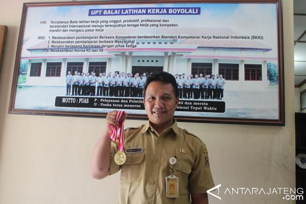 BLK Boyolali Juara Nasional Instruktur Otomotif