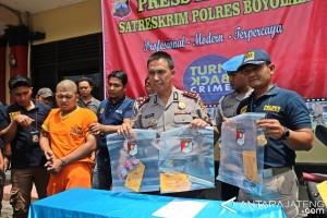 Pembunuh Kasir RM Dapoer Kalimi Boyolali Ditangkap