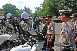 Ribuan Personel Jepara Disiapkan Amankan Kunjungan Presiden