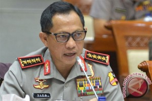 Indonesia to not be dissolved: Police Chief