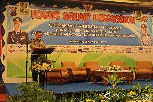 Humas Polda Tingkatkan Pengetahuan Anggota Lewat FGD