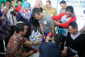 Wali Kota Semarang Serahkan Bantuan Kaki Palsu