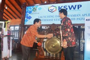 Bupati Banjarnegara Luncurkan Aplikasi KSWP