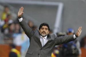 Apa Kata Maradona tentang Gagalnya Italia ke Piala Dunia?