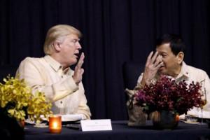Trump Sebut Hubungan dengan Filipina Amat Penting Bagi militer
