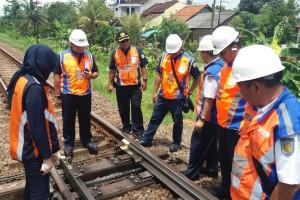 KAI Purwokerto Cek Kesiapan Jalur Hadapi Natal