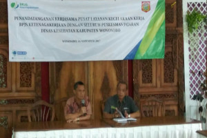 BPJS Ketenagakerjaan Magelang Gandeng 24 Puskesmas di Wonosobo
