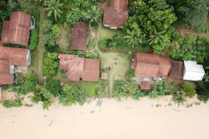 Banjir di Desa Madura Cilacap Mulai Surut