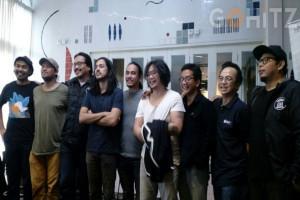 Grup Musik Penerbang Roket Menjadi Band Rock Pertama yang Rekaman Live di GKJ