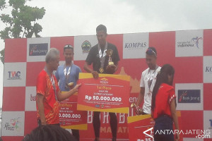 Bank Jateng Sukses Menggelar Borobudur Marathon 2017