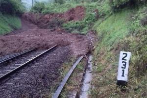 Longsor Gundih/Karangsono, sembilan kereta api harus memutar