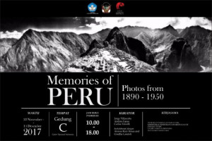 Pameran Fotografi Peru Digelar di Galeri Nasional Indonesia