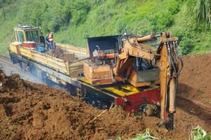 KAI: Jalur Rel Lintas Selatan Aman Dilewati