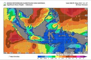 BMKG: Waspadai Angin Kencang di Jateng Selatan