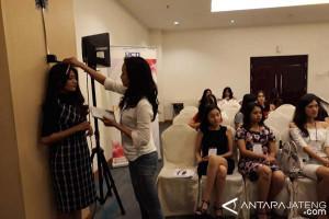 Audisi Miss Indonesia di Semarang Diikuti 129 orang