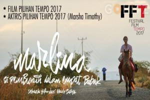 Film Marlina si Pembunuh Raih Penghargaan Festival Film Tempo 2017