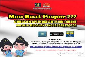 Imigrasi Wonosobo Terapkan Antrean Paspor Sistem Online