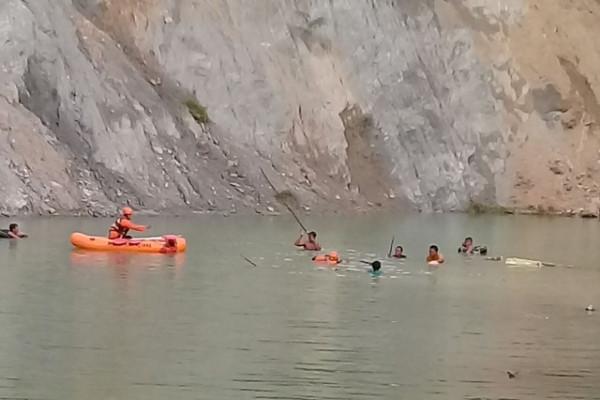 Seorang Warga Banjarnegara Tenggelam di Galian Pasir